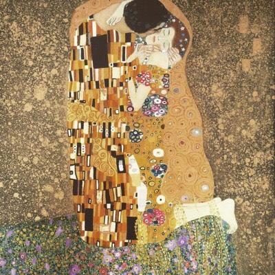 Felicja LAMPRECHT - Le baiser, Gustav KLIMT